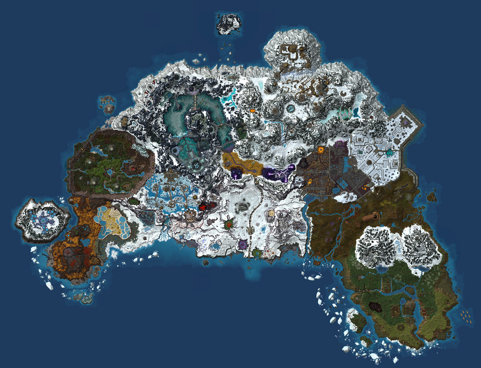 World of google mapcraft team overpowered northrend map gumiabroncs Choice Image