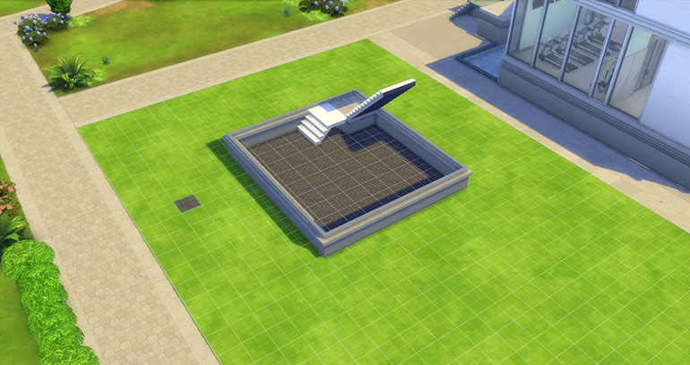 Sims 4 Quick Easy Split Level Stairs, How To Build Basement Stairs Sims 4