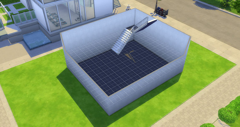 How To Build Corner Stairs In Sims