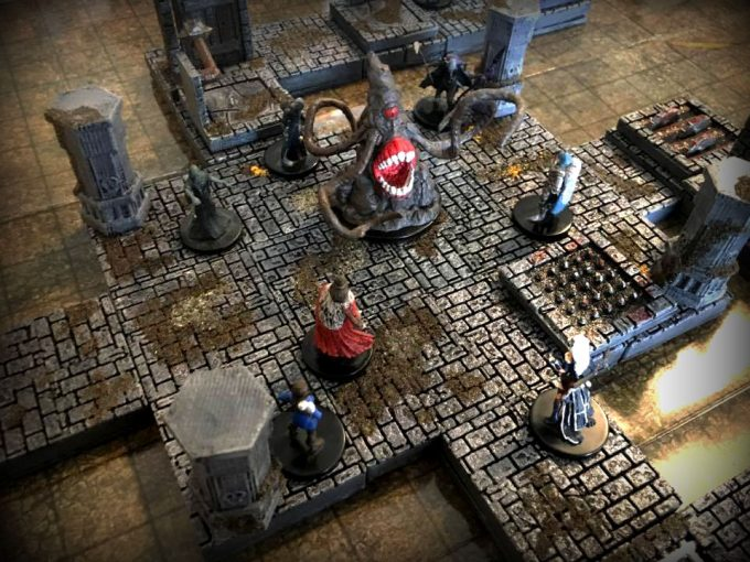 photo relating to 3d Printable Dungeon Tiles named Epic Dungeon Tiles: Myth Tiles for 3D Printers Workers