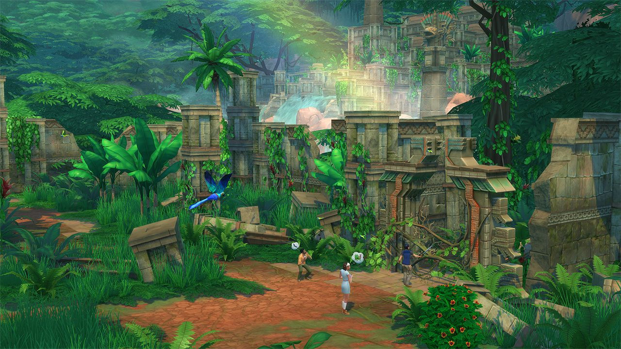 Sims 4 Jungle Adventure – Exploring The Mysteries Of The Jungle!