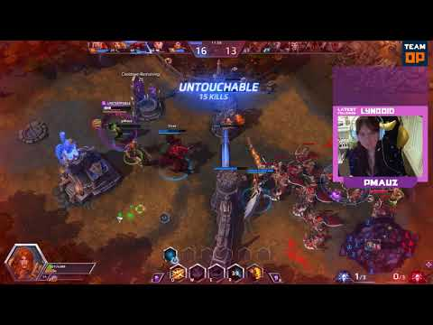 Heroes of the Storm Live on Twitch with pMauz