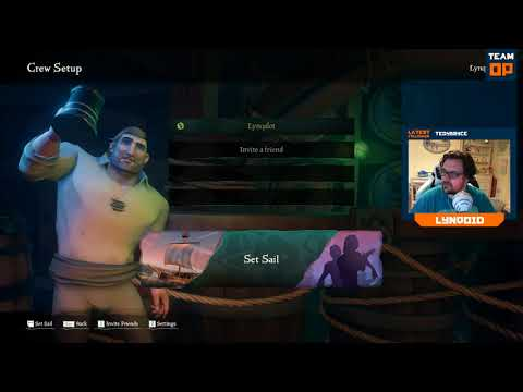 Sea of Thieves – Lynqoid & Shaun_TheBrawn, will they discover treasure? Probably not.