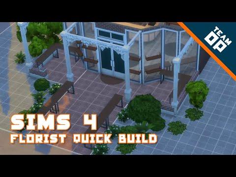 Sims 4 Quick Build – Florists Shop
