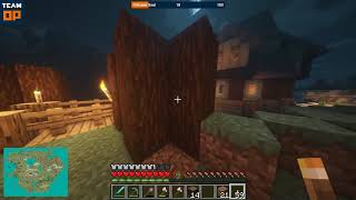 Ep 2. Minecraft Fallmount Kingdom: Jerek Farmstead & Palisade Wall