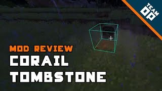 Minecraft Corail Tombstone Mod Review – TeamOP