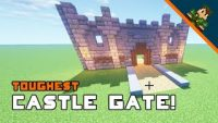 Minecraft How To Build A Castle Gate Team Overpowered