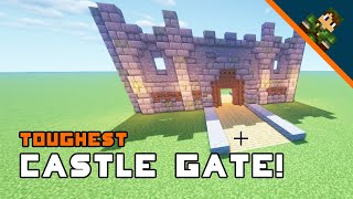 Minecraft How To Build A Castle Gate