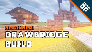 Minecraft How To Build A Drawbridge