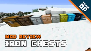 Minecraft Mod Iron Chests Review – TeamOP