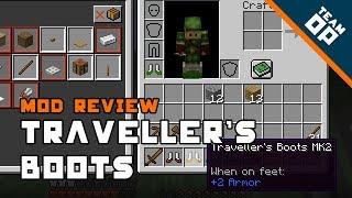 Minecraft Traveller's Boots Mod Review – TeamOP
