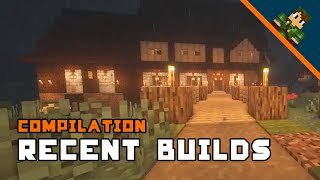Minecraft Build Ideas Compilation (P1)
