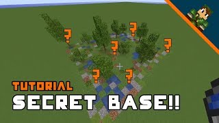 Minecraft How To Build A Secret Base
