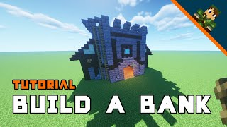 Minecraft How To Build A Bank