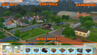 Sims 4 Build Mode Screenshot