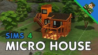 Sims 4 Micro House Build – Part 1 (Exterior, No CC)